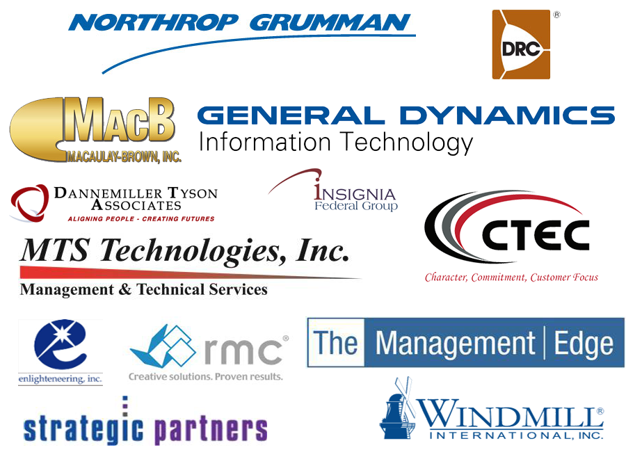 LDSS Partners, DRC, The Greentree Group, General Dynamics IT, The Management Edge, MTS, CTEC, Insignia, rmc, Windmill, enlighteneering, dannemiller tyson